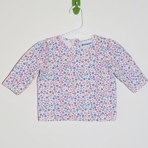 Buster Brown Floral Shirt 12m